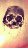 2 Headed Skull by myartisoriginal
