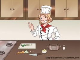 Cooking with Chef Francis by Miss-Panettone