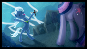 The Greater and More Powerfuller Trixie by porkchopsammie
