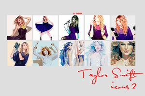 Taylor Swift icons 2 by Sevein18