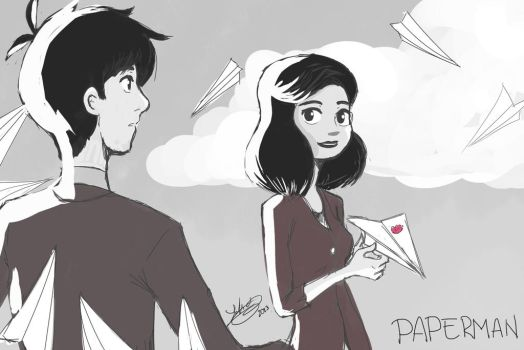 Paperman by yei-4sus-yoh