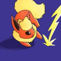 Flareon by NeoTheBean