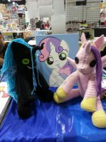 Queen Chrysalis and Princess Cadance Ragdolls by charletothemagne