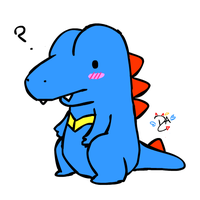Totodile by dcheeky-angel