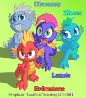 MLP: Dragon Infestation by LuLuLunaBuna