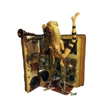 Altered Book Mixed Media Assemblage Art (3) by TheReverendMercury