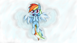 Snow Angel by ThunderElemental