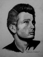 James Dean by TrackerJohn