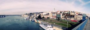 Belgrade panorama by LilySea