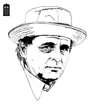 Doctor Who Sylvester McCoy by bigdoo