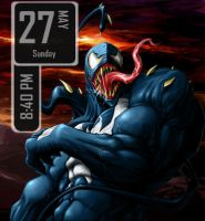 Venom Calendar for Rainmeter by TenshiVerurteilt
