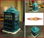 Tardis Cake by Paintcakes