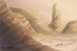 Ghosts of the Great Salt Mesas by Ulario