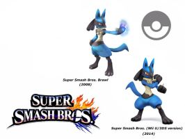 Lucario (Super Smash Bros. Evolution) by delvallejoel