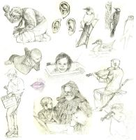 Sketches 2006-2008 by B-gata