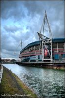 HDR The Millenium Stadium by Rovanite
