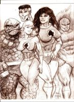 Fantastic 4 by MisterHydesSon