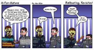 Ballbusting, Revisited by MFM-comics