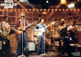 The Wailers 1973 by rdrg