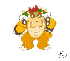 Bowser by MKDrawings
