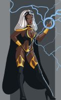 Storm the Goddess by ebony-chan
