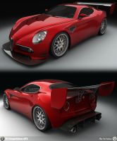 8C Competizione GT1 - WIP by AfroAfroguy