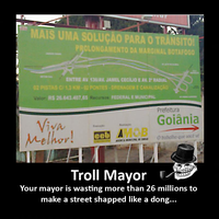 Troll Mayor by orcbruto