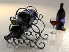Wine Rack by Marty--McFly