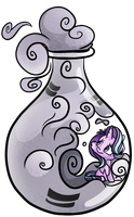 Starlight's Bottle by CutePencilCase