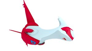 Latias - Happy (Cartoon) by TheModerator