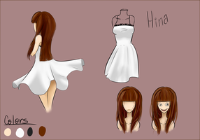 NEW OC Hina by FoodStamps23