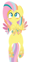 Rainbow Power Fluttershy? by January3rd