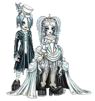 Victorian Lolita Ghosts by NoFlutter
