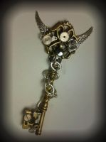 Chained Angel Fantasy Key by ArtByStarlaMoore