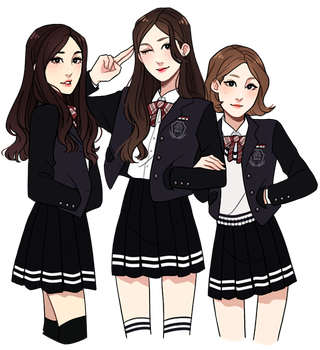 TCFHS: Girl Squad by Hyeoii