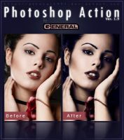 Photoshop Action Ver. 1.9 by General1991