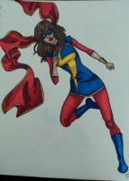 Kamala is Ms.Marvel by happyeverafter