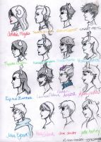 Headcanon Profiles by pocketcheese