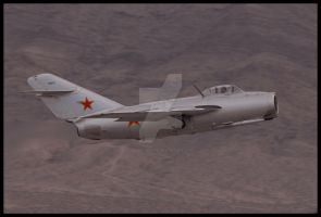 Mig 15 by AirshowDave