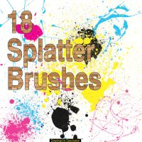 Ampix0's Splatter set 1 by ampix0