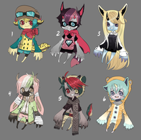 Adopts::Varituri babehs 2 CLOSED by Pandastrophic