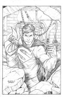 Action Comics Superman by anthonymarques