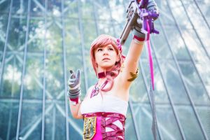 Serah Farron - Final Fantasy XIII-2 by fiathriel