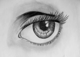 Eye Study by death-of-roots