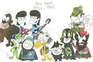 Paul Frees Tribute by SithVampireMaster27