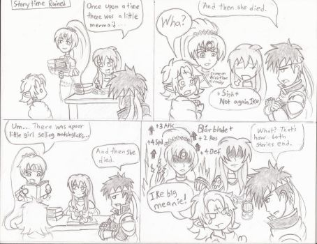 [FEH 4Koma] #30: Storytime Ruined by Willanator93