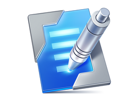 TypeMetal MacOS App Icon by Ramotion