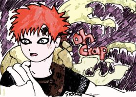 Oh no Gaara by sicksake
