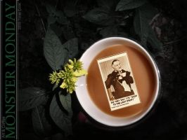 Coffee With Grandpa Munster by charlino