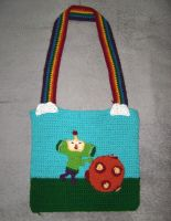 Katamari Damacy Bag by MaculaMaster734